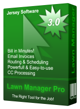 Lawn Manager Pro - Jersey Software